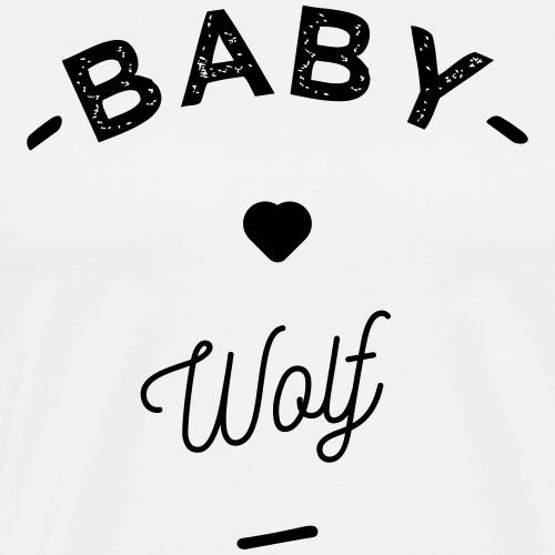 Baby wolf- - T-shirt Premium Homme