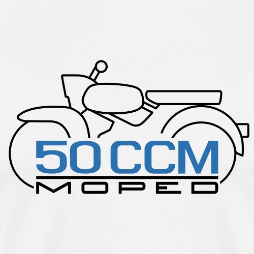 Moped Sperber Habicht 50 ccm Emblem - Men's Premium T-Shirt
