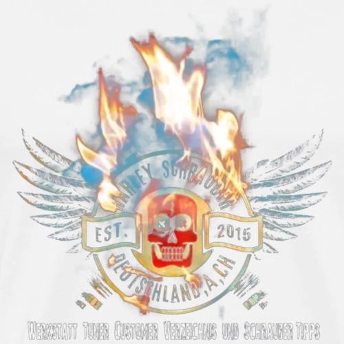 HSD LogoBurn - Männer Premium T-Shirt