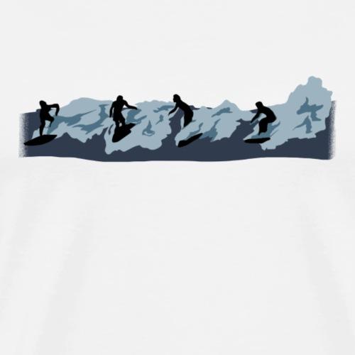Broken - Camiseta premium hombre