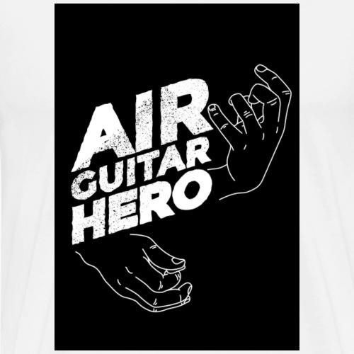 luftgitarre T Shirt Geschenk Geschenkidee - Männer Premium T-Shirt