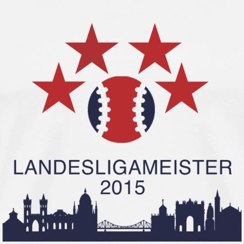 Landesligameister png - Männer Premium T-Shirt