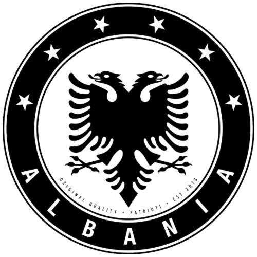 Patrioti Albania Black - Männer Premium T-Shirt