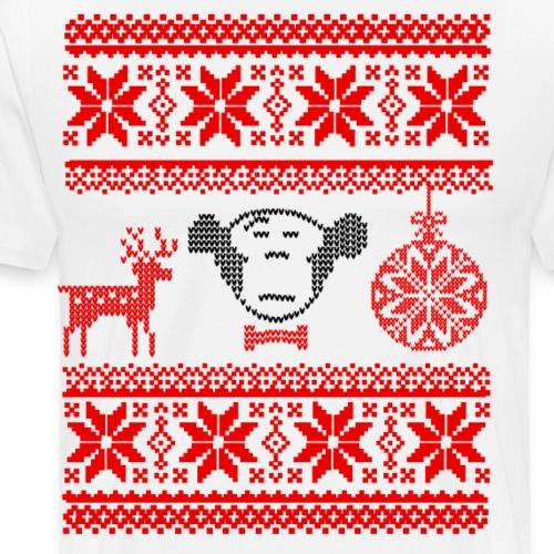 Ugly Christmas (IV) - Männer Premium T-Shirt