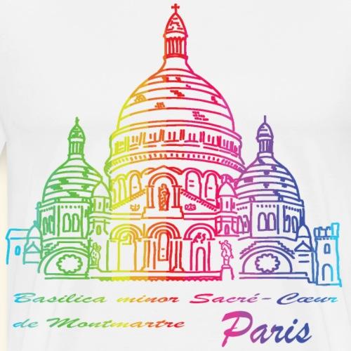 Paris - Basilica Sacré-Cœur de Montmartre - Männer Premium T-Shirt