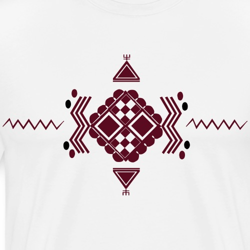 Motif Berbère MMB011 - T-shirt Premium Homme