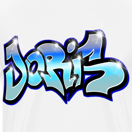 Joris GRAFFITI TAG PRINTABLE BY MAX LE TAGUE - T-shirt Premium Homme