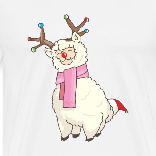 Weihnachten Alpaka Design