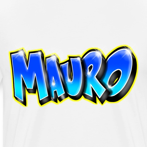 MAURO GRAFFITI NAME - T-shirt Premium Homme