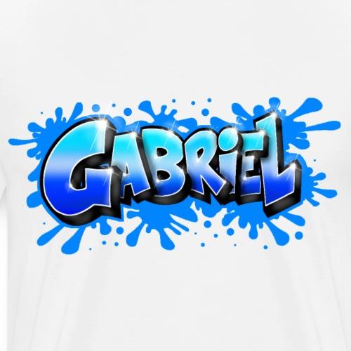 Graffiti GABRIEL - T-shirt Premium Homme