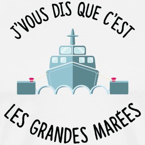 François l'embrouille garde maritime - T-shirt Premium Homme