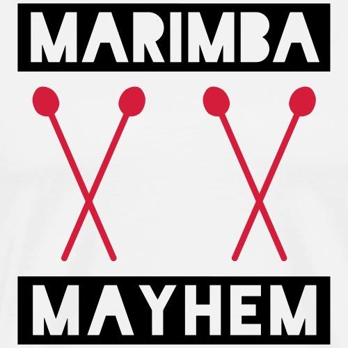 Marimba Mayhem - Männer Premium T-Shirt
