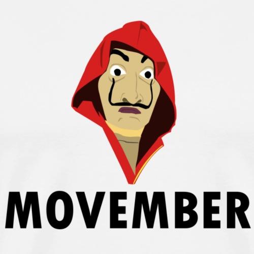 Le mois de la moustache - T-shirt Premium Homme