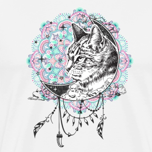Cat dream - Men's Premium T-Shirt