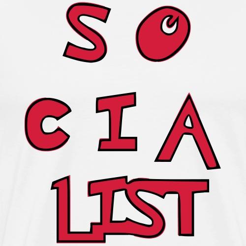 so-cia-list - Männer Premium T-Shirt