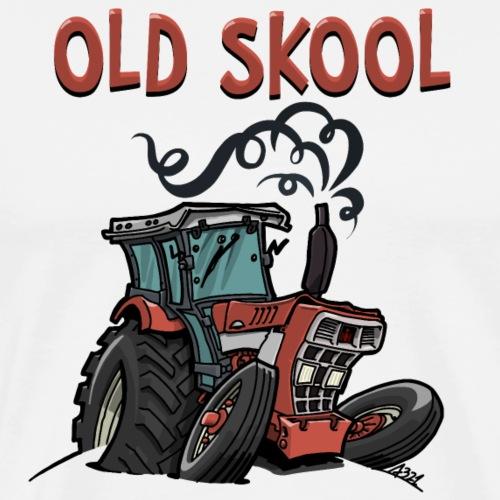 1014 Super old skool - Mannen Premium T-shirt