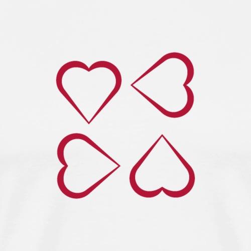 Amourösere Design Eigenkreation - Männer Premium T-Shirt