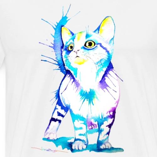 Chat en bleu 2