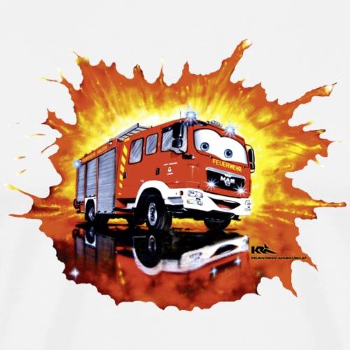 Kinder Feuerwehrauto MAN Comic - Männer Premium T-Shirt
