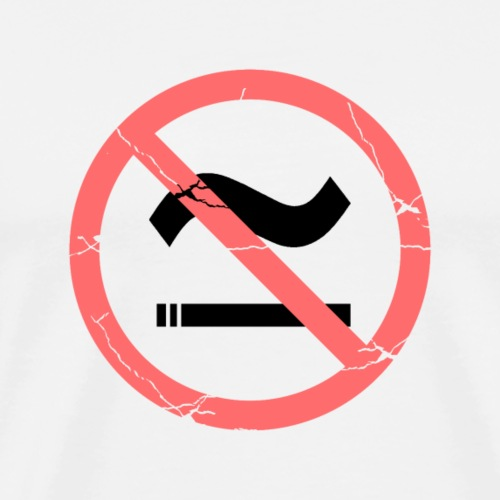 The Commercial NO SMOKING (Salmon) - Men's Premium T-Shirt