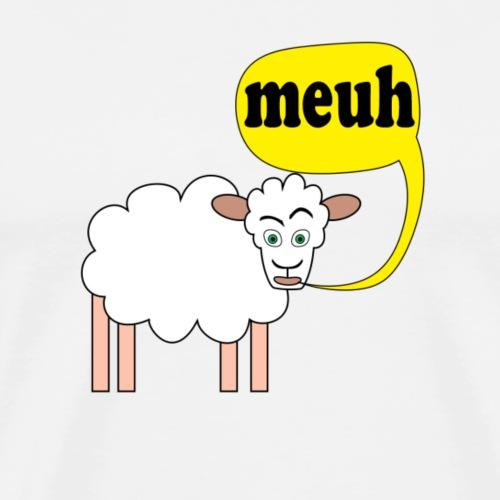 Mouton meuh ! - T-shirt Premium Homme