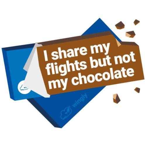 Share my flights - Men's Premium T-Shirt