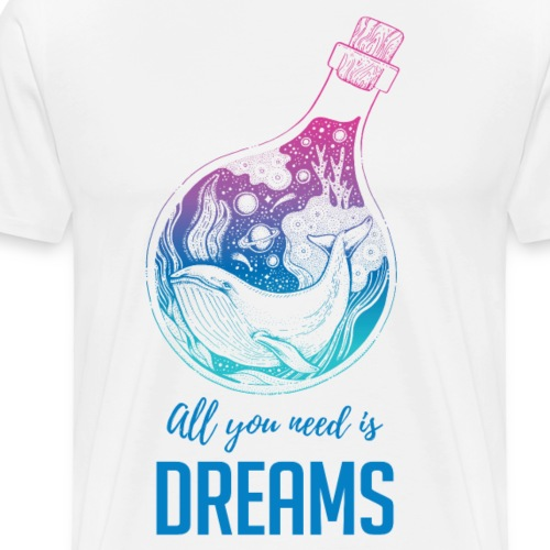 Dream Whale - Men's Premium T-Shirt