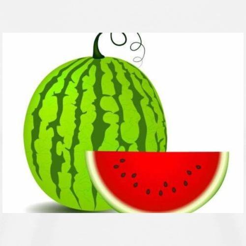 Vattenmelon - Premium-T-shirt herr