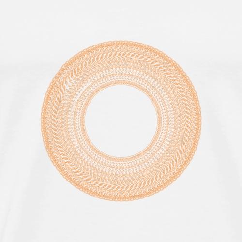 Orange cycle - T-shirt Premium Homme