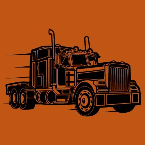 Truck / Lkw 03_schwarz - Männer Premium T-Shirt