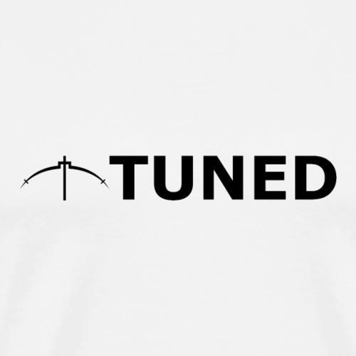 TUNED - Redécouvrez la radio Monochrome - T-shirt Premium Homme