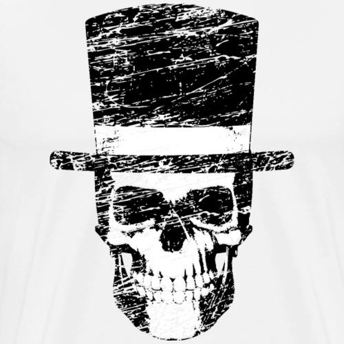 Gentleman Skull Geschenkidee für jeden Skull Fan - Männer Premium T-Shirt