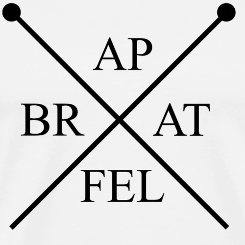 Bratapfel Paddle - Männer Premium T-Shirt