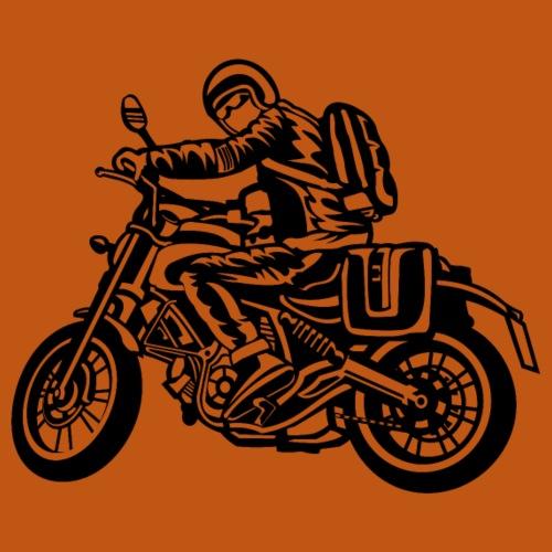Motorrad Touring / Motorcycle 01_weiß - Männer Premium T-Shirt