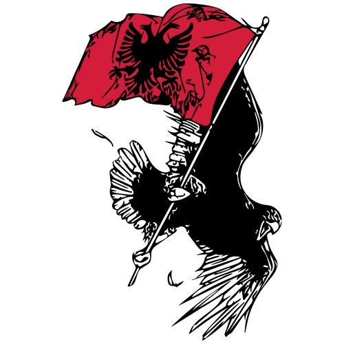 Albanischer Adler - Männer Premium T-Shirt