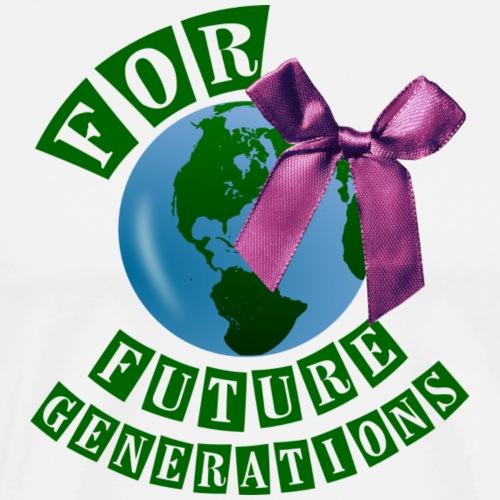 FOR FUTURE GENERATIONS - Männer Premium T-Shirt