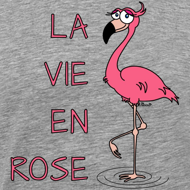 Flamant Rose, la vie en Rose