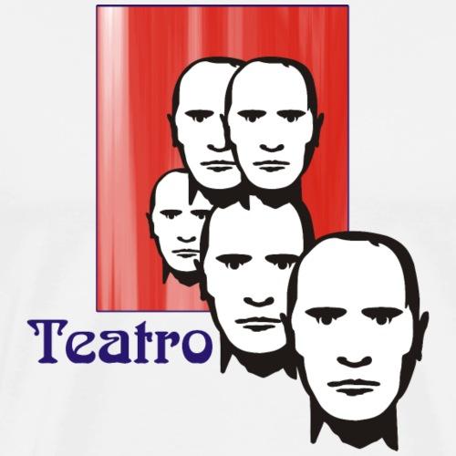 Vom Grafik Designer-- Theater - Männer Premium T-Shirt