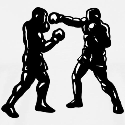 Box fight - Boxers boxing - Box Sport - Camiseta premium hombre