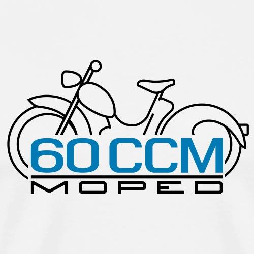 Moped SR2 60cc emblem - Men's Premium T-Shirt