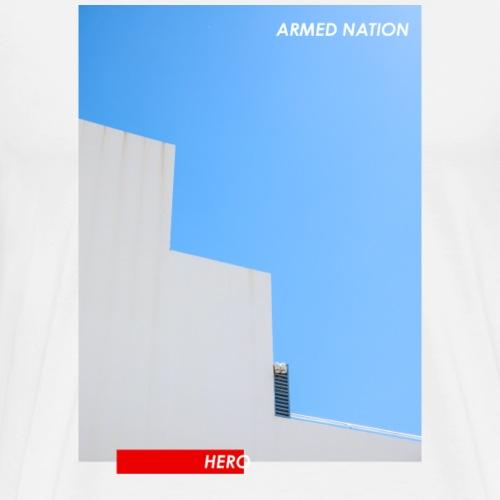 BLUE ROOF HERO - ARMED NATION 2021 - Männer Premium T-Shirt