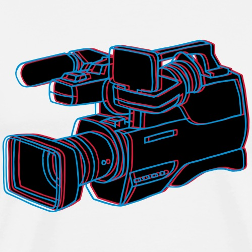 Video Kamera - Männer Premium T-Shirt
