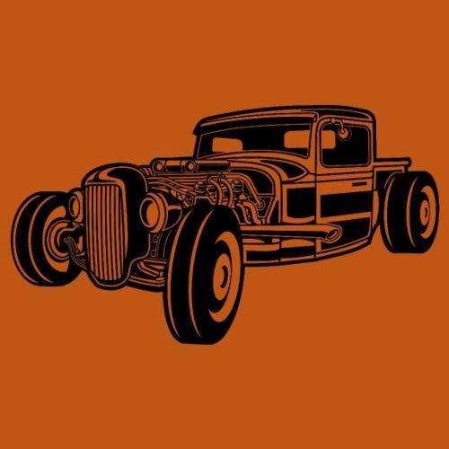 Hot Rod / Rad Rod 06_schwarz - Männer Premium T-Shirt