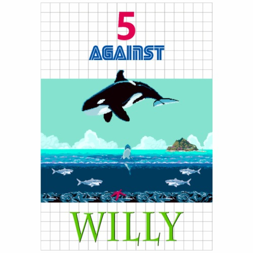 5 AGAINST WILLY - Männer Premium T-Shirt
