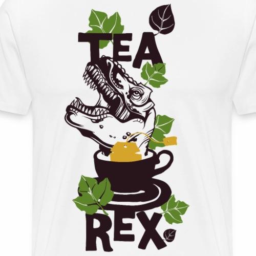 Tea Rex - Männer Premium T-Shirt