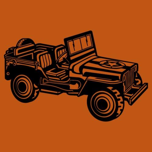 Geländewagen / Jeep SUV 01_schwarz - Männer Premium T-Shirt