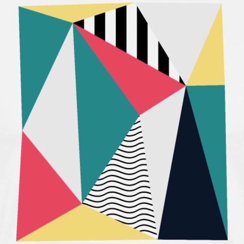 Triangulos - Camiseta premium hombre