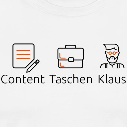 Content Taschen Klaus - OpenText CMS - Männer Premium T-Shirt