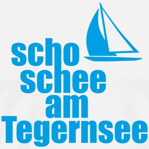 Scho schee am Tegernsee - Männer Premium T-Shirt