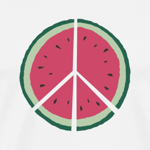 watermelon peace - Männer Premium T-Shirt